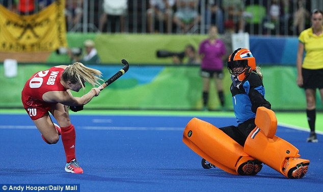 Holly Webb keeps her cool to win Gold for Team GB on the final penalty